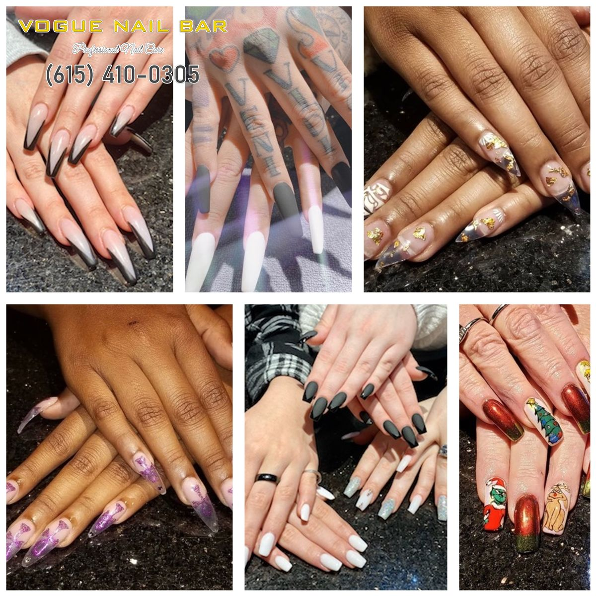 Vogue Nail Bar - Nail salon Murfreesboro, TN 37129